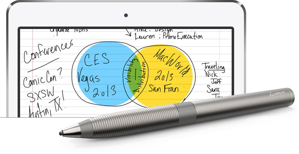 Adonit Jot Touch and OneNote